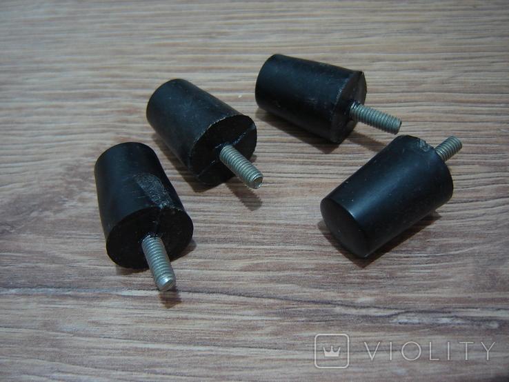 Ножки пластиковые с резьбовым стержнем, фото №5