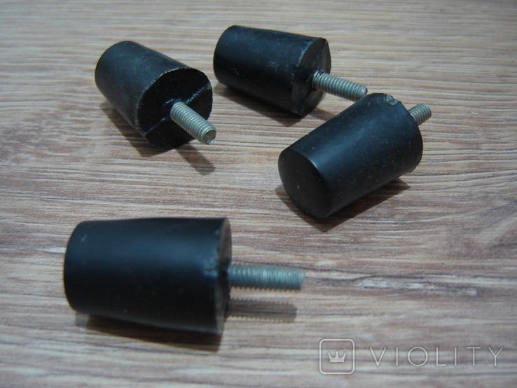 Ножки пластиковые с резьбовым стержнем, фото №6