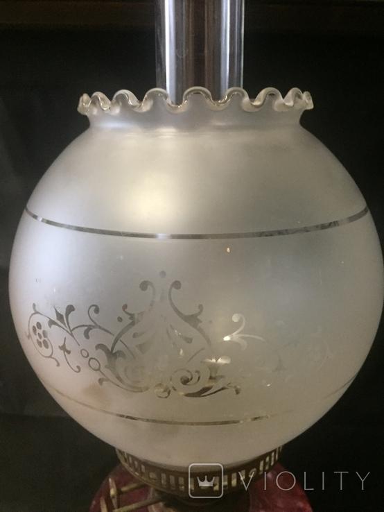 Керосиновая лампа ,  Англия, фото №7