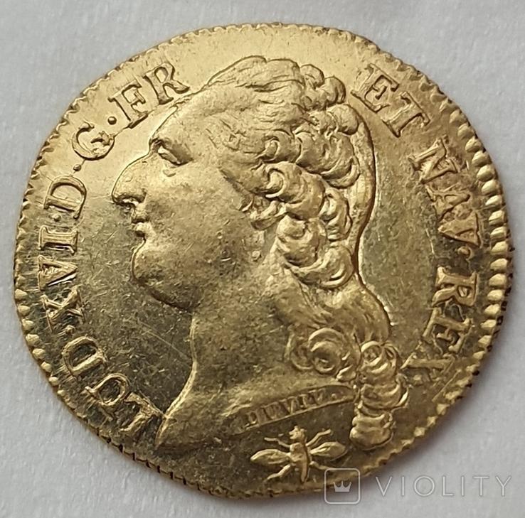 Луидор 1786 года
