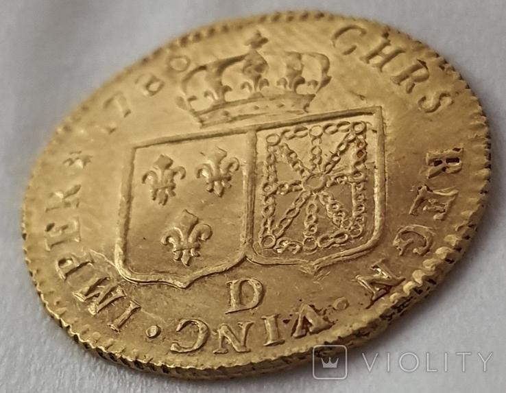 Луидор 1786 года, фото №9