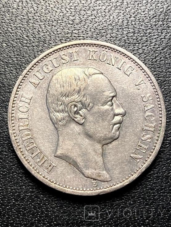 Три марки 1910 (Drei mark 1910 Sachsen), фото №2