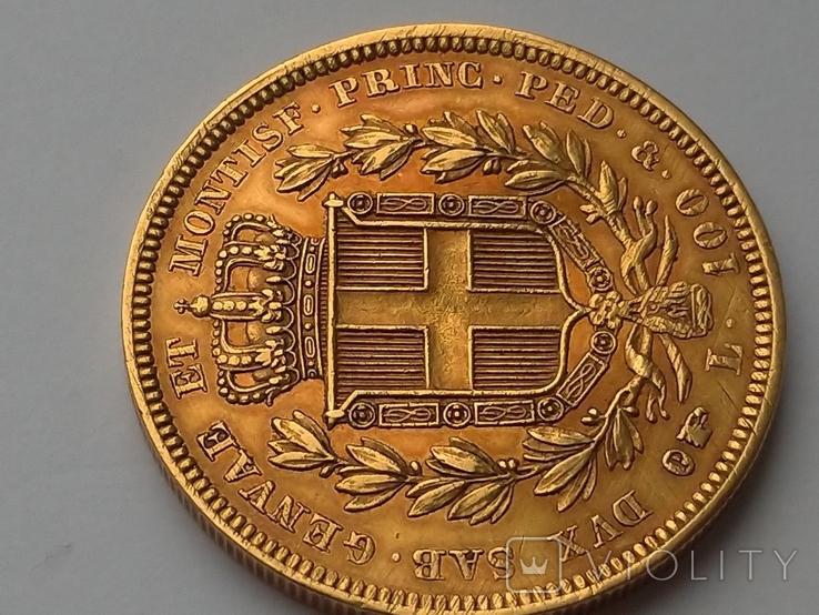 100 Лир. Сардиния 1834г., м.д. Турин, фото №5