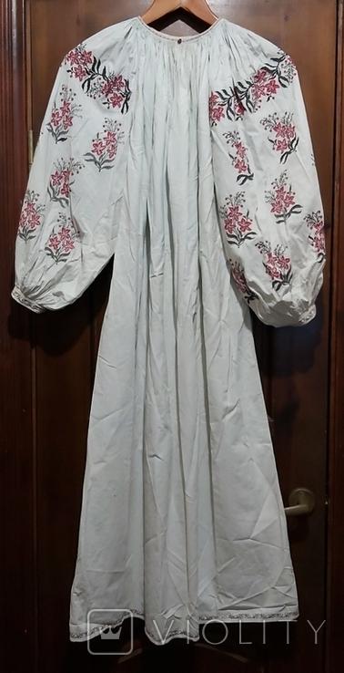 Сорочка старая с вышивкой.Полтавщина.Прошлый век., фото №2