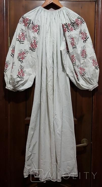 Сорочка старая с вышивкой.Полтавщина.Прошлый век., фото №3