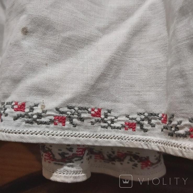Сорочка старая с вышивкой.Полтавщина.Прошлый век., фото №10