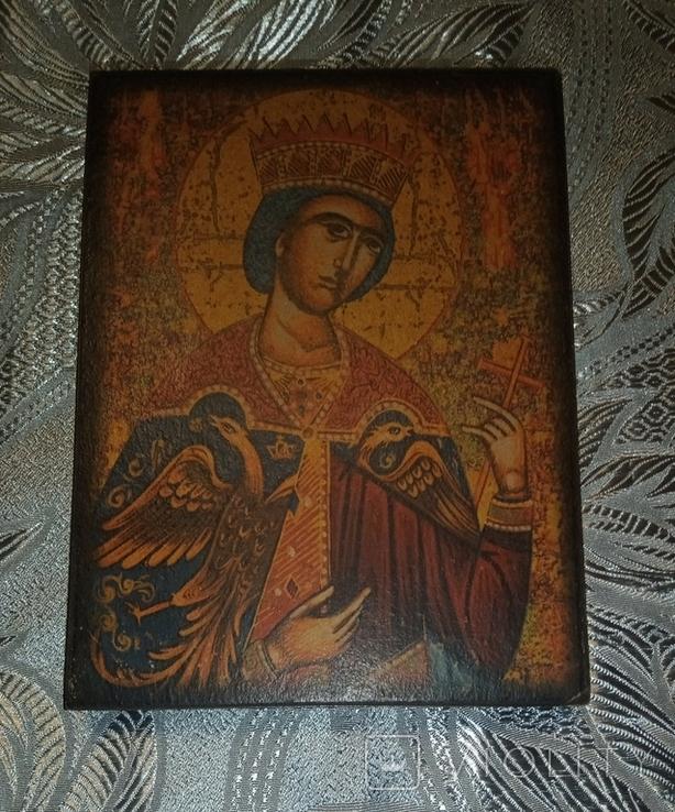 Икона Святой Екатерины, Египет, монастырь Святой Екатерины, фото №2