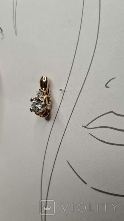 Золотое кольцо и серьги., фото №5