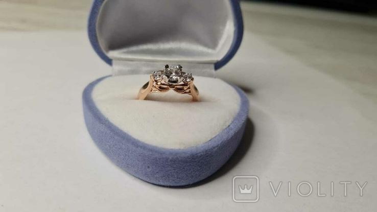 Золотое кольцо и серьги., фото №6