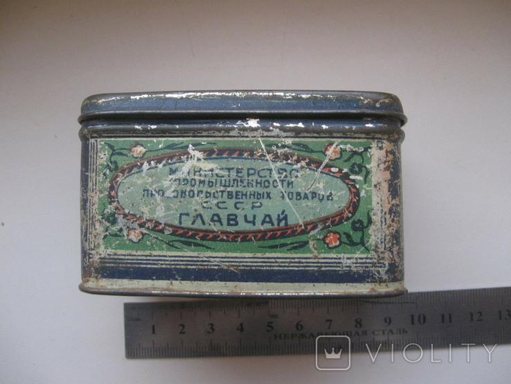 Коробок от чая,железо, фото №3