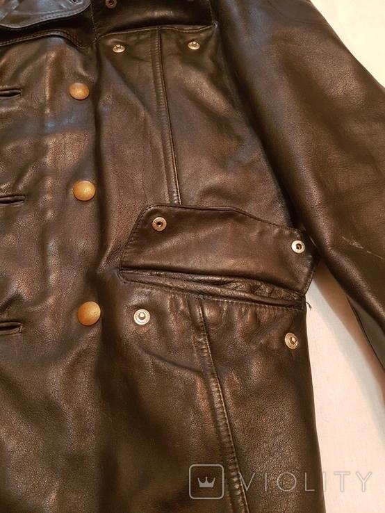 Кожаная куртка полицейского ФРГ 1980 г, фото №8