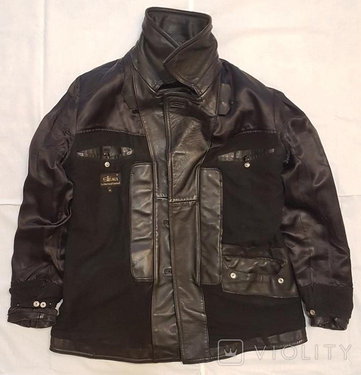 Кожаная куртка полицейского ФРГ 1980 г, фото №11
