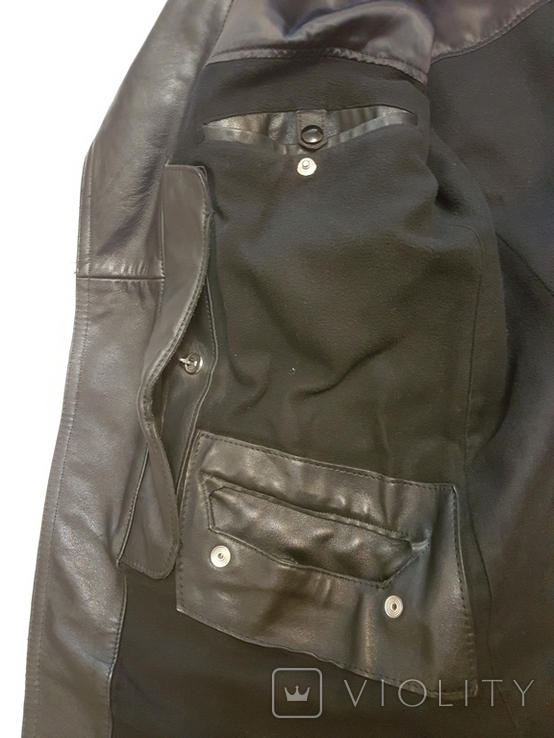 Кожаная куртка полицейского ФРГ 1980 г, фото №12