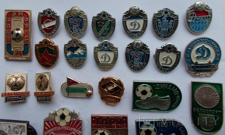 Футбольные команды и другие.  24 шт., фото №3