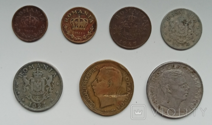 Набор монет Румынии, фото №5