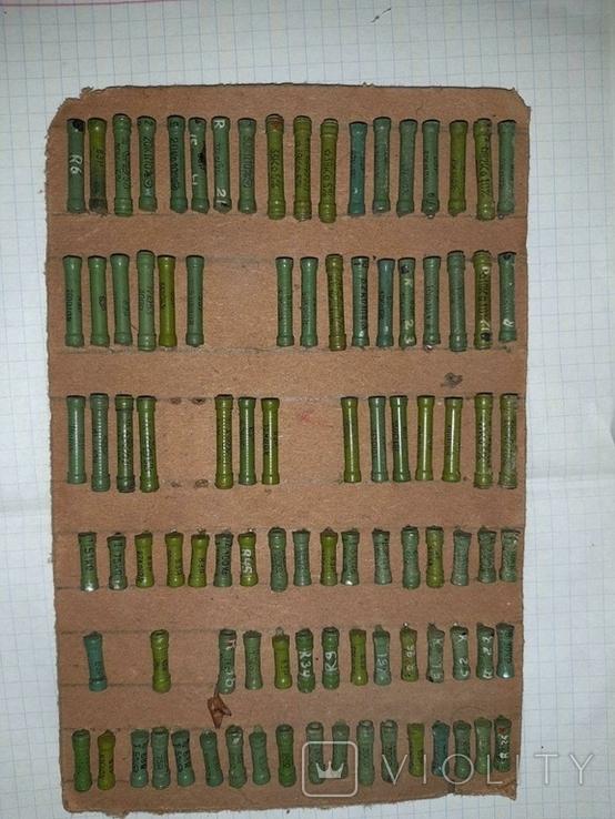 Большая подборка резисторов ВЗР СССР, фото №3