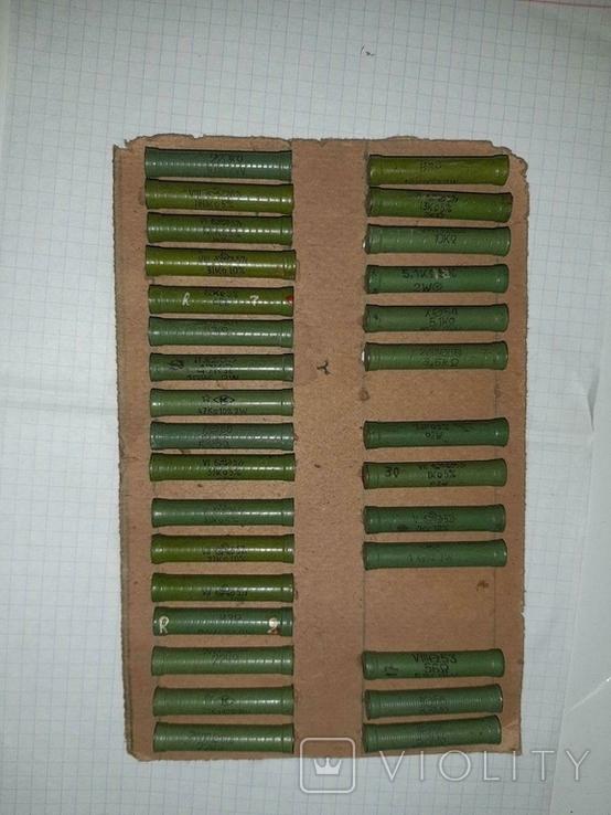 Большая подборка резисторов ВЗР СССР, фото №4