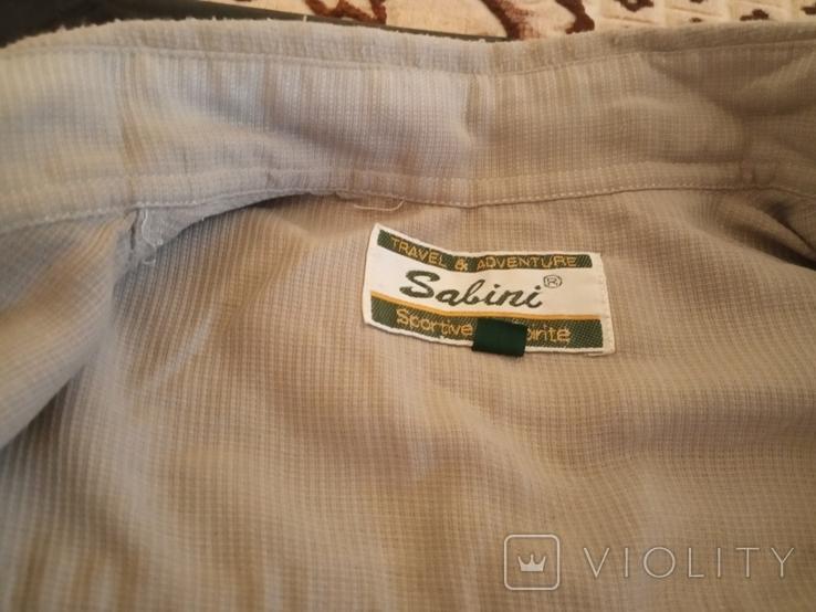 Рубашка мужская, короткий рукав  52- 54, фото №5