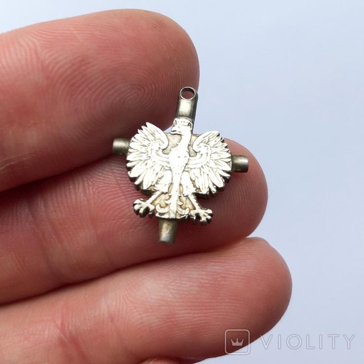 Срібний хрест, Польша, Патріотика, фото №6