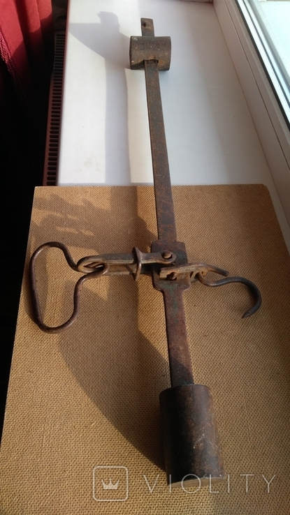 Старинные весы клеймо 1849г., фото №2