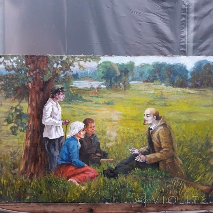 Ленін з дітьми, фото №2