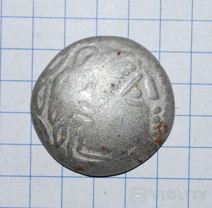 Кельтское подражание монете Филиппа II Македонского