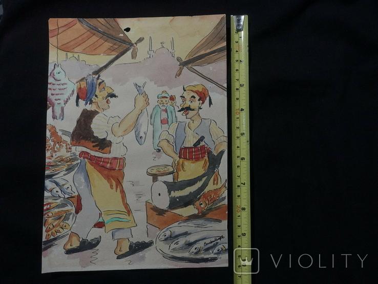Картина 1920 гг, фото №4