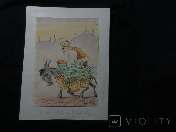Картина 1920 гг, фото №3