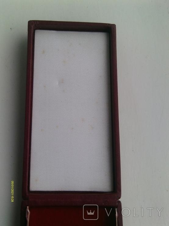 Коробка футляр для нагороди Польської Народної Республіки., фото №7