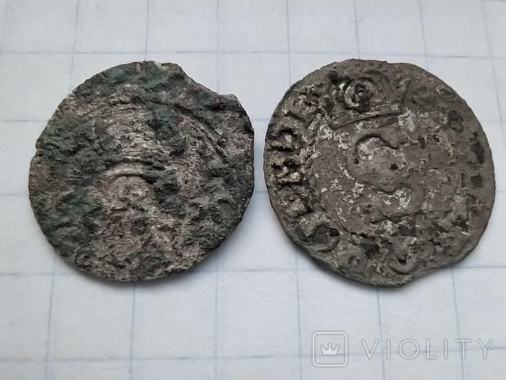Дводенарій 1520 + бонус солід, фото №3