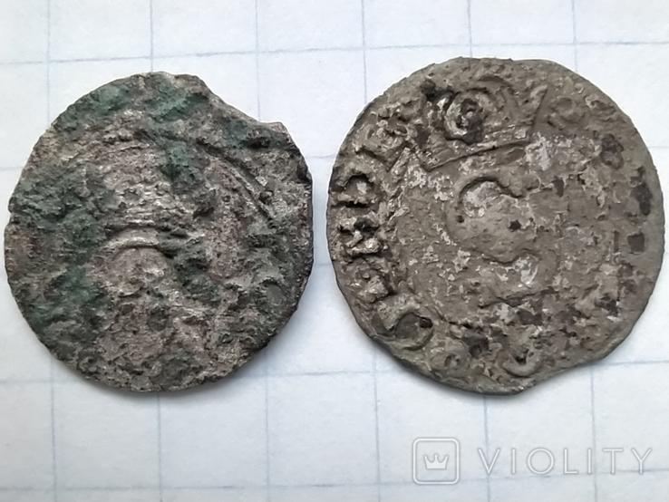 Дводенарій 1520 + бонус солід, фото №4