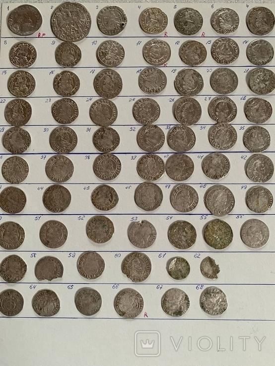 Середньовічних монет 30 річної війни в Чехії перідом 1610-1640 роки.