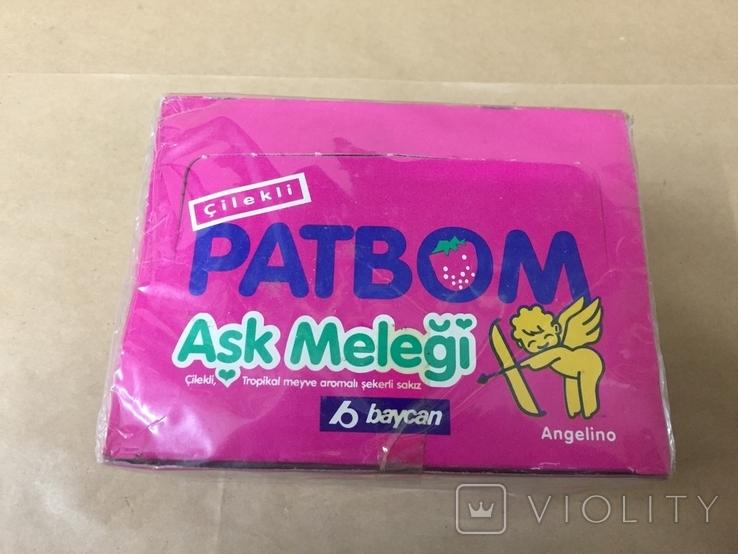 Запечатанный блок жвачек PatBom ,1992г оригинал, фото №2