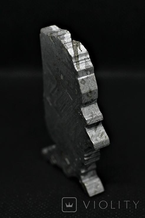 Залізний метеорит Aletai, карта США USA, 108,6 грам, із сертифікатом автентичності, фото №10