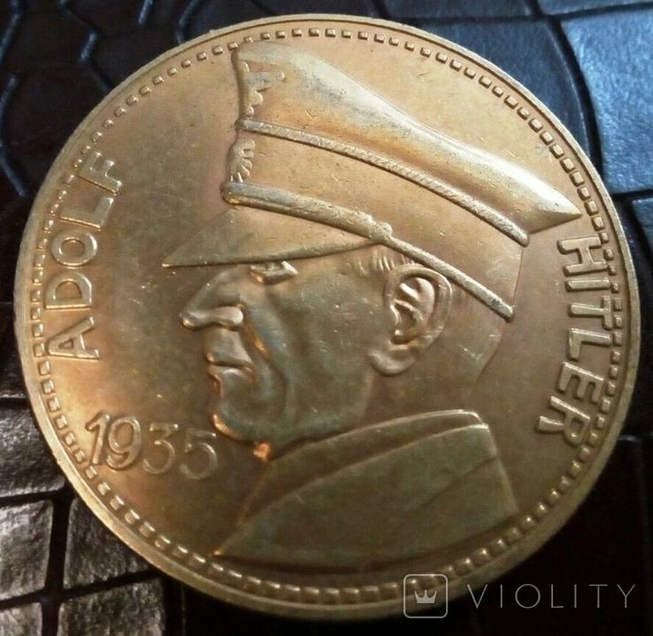 5 рейхсмарок 1935 року Німеччина.Копія пробної., фото №2