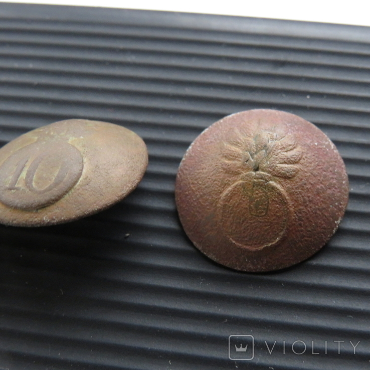 Пуговицы с гренадами, фото №3