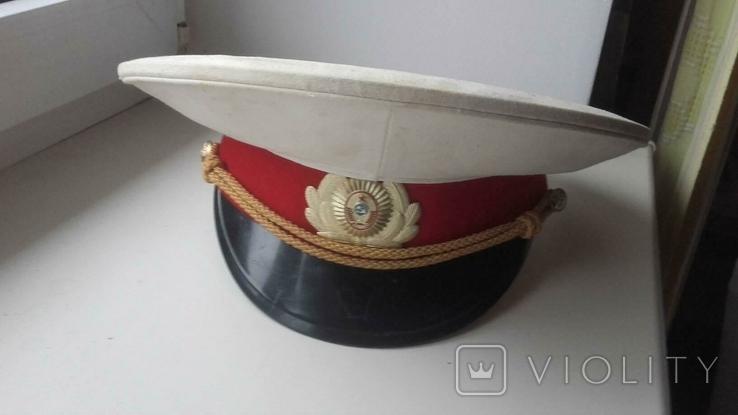 Фуражка парадная белая милицейская МВД СССР, фото №2