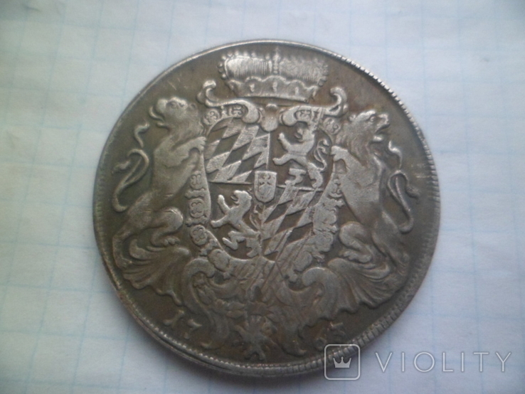 Талер 1763 рік копія, фото №4