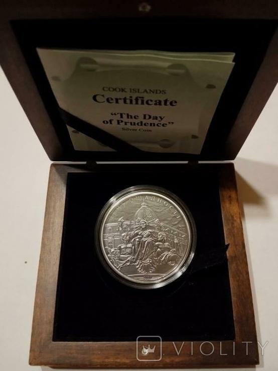 День Ощадности - серебро, 5 , унция.  - тираж всего 500 штук - полный комплект, фото №4