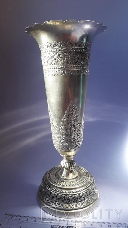 Ваза, серебро, 213 грамм, Индия, фото №2