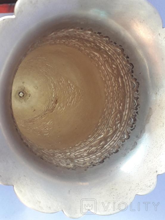 Ваза, серебро, 213 грамм, Индия, фото №4