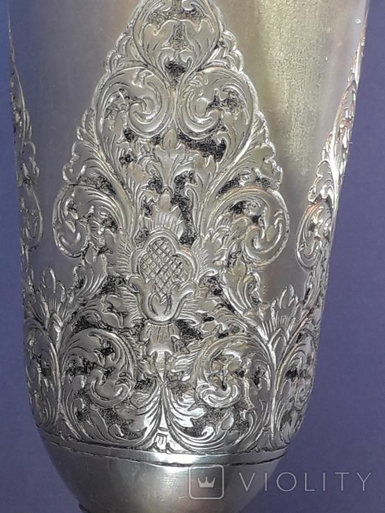 Ваза, серебро, 213 грамм, Индия, фото №10