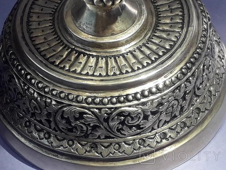 Ваза, серебро, 213 грамм, Индия, фото №11