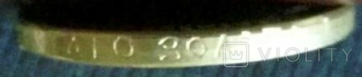 5 рублів золотом 1906   року . Копія - не магнітна , бронза, фото №4