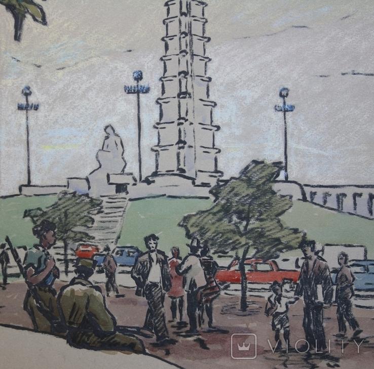 На площади Гавана. Член СХ УССР Вяткин А.В., фото №2