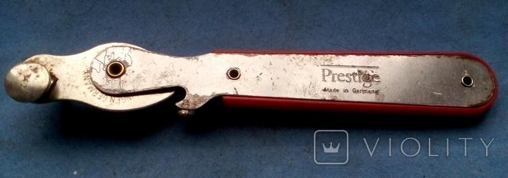 """"""" Консервный нож """" ( Германия ) Prestige - Solingen, фото №2"""