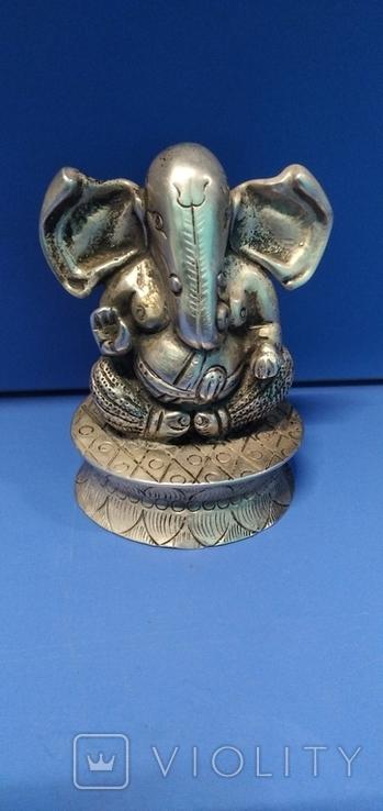 Фигурка божества из серебра, фото №4