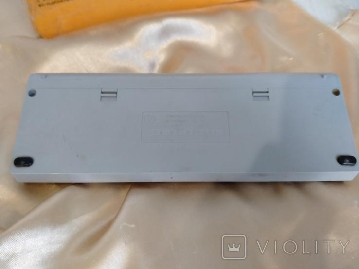Электроника МК 52, коробка , руководство по эксплуатации, фото №4
