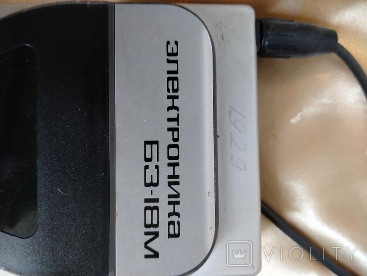 Электроника Б3-18М, чехол,блок питания, фото №7