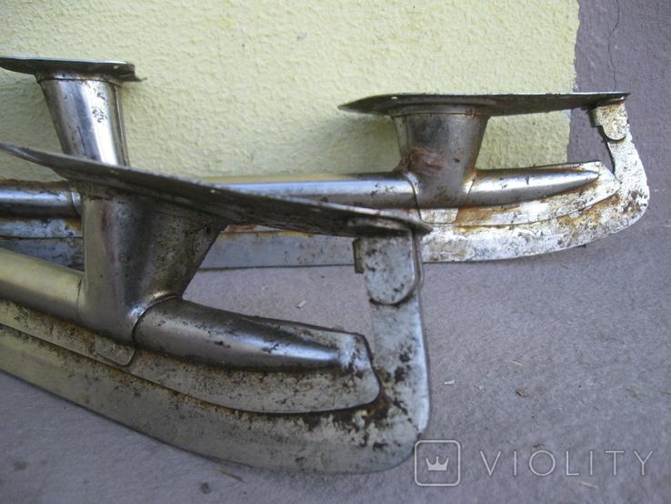 Коньки времен СССР. (размер 26см стопы), фото №3